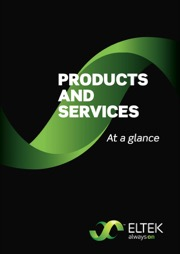 ELTEK products and services brochure