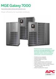 MGE Galaxy 7000 160-500 kVA