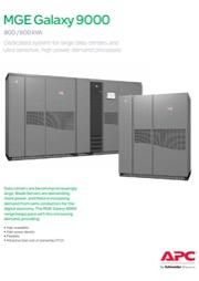 MGE_Galaxy 9000 Broshure 800-900 kVA