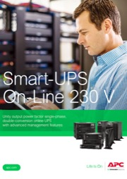 Smart-UPS On-Line SRT 2.2kVA - 10kVA Brochure