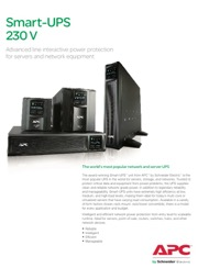 Smart-UPS Tower and Rack-mount 750-3000