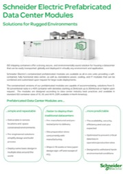Solution Prefabricated Modules for Rugged Environments